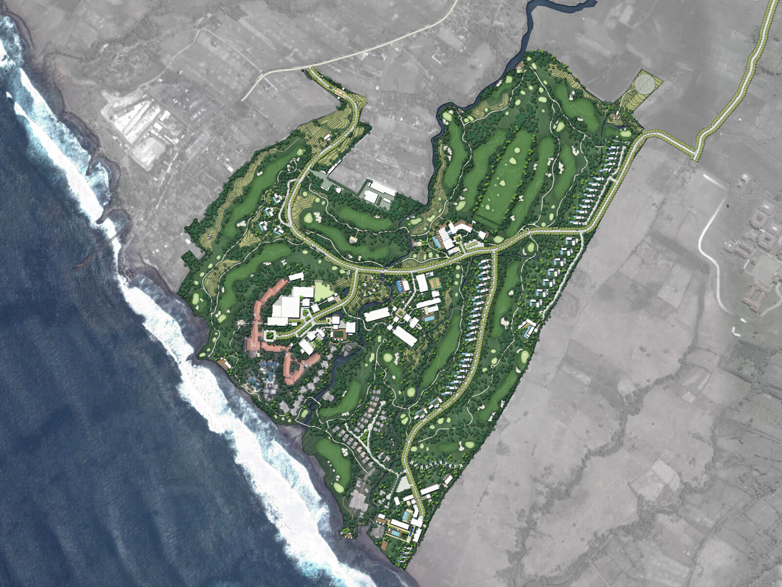Nirwana bali resort master plan aedas - Hotel design planning and development ebook ...