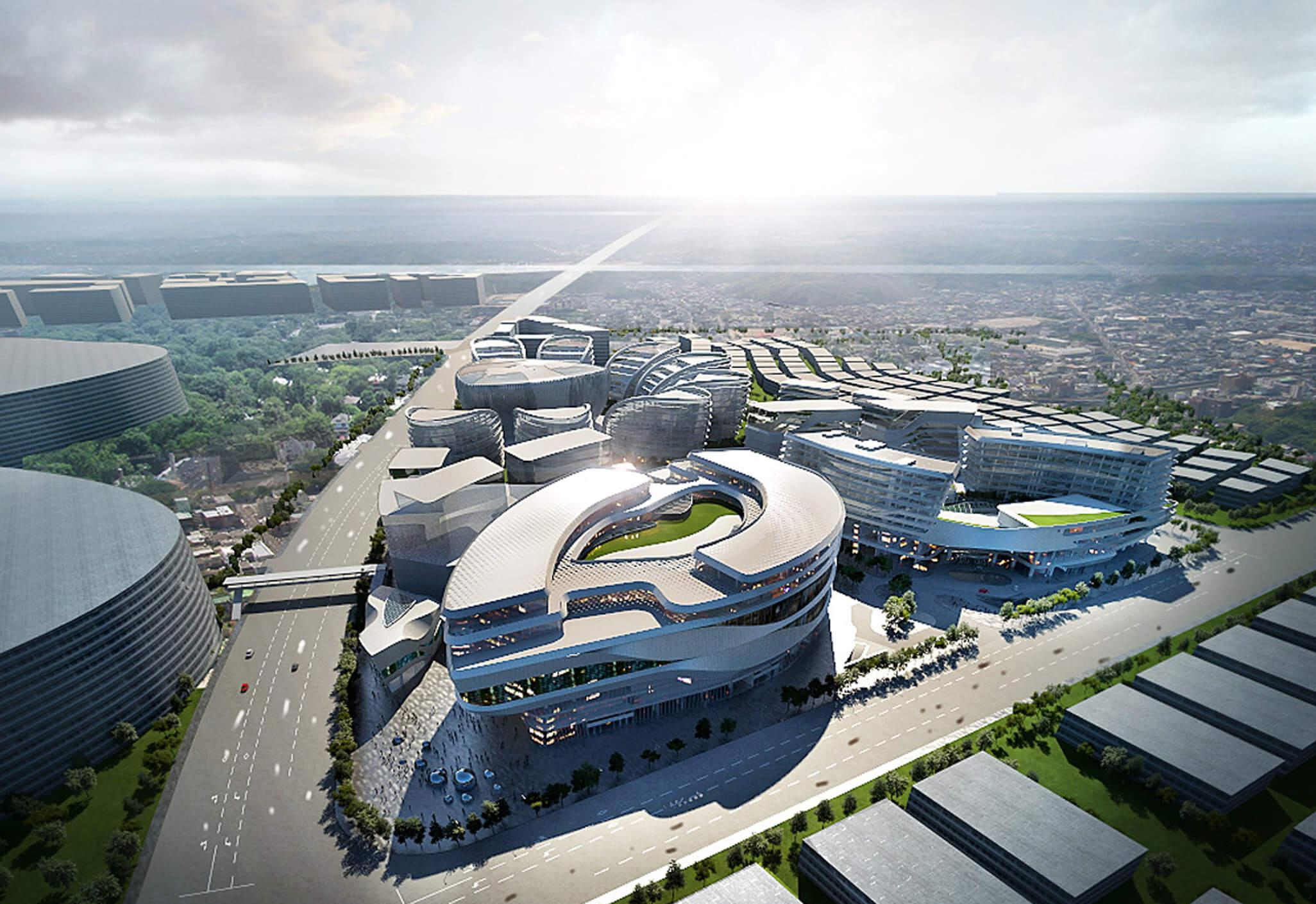 Hongqiao World Centre Aedas