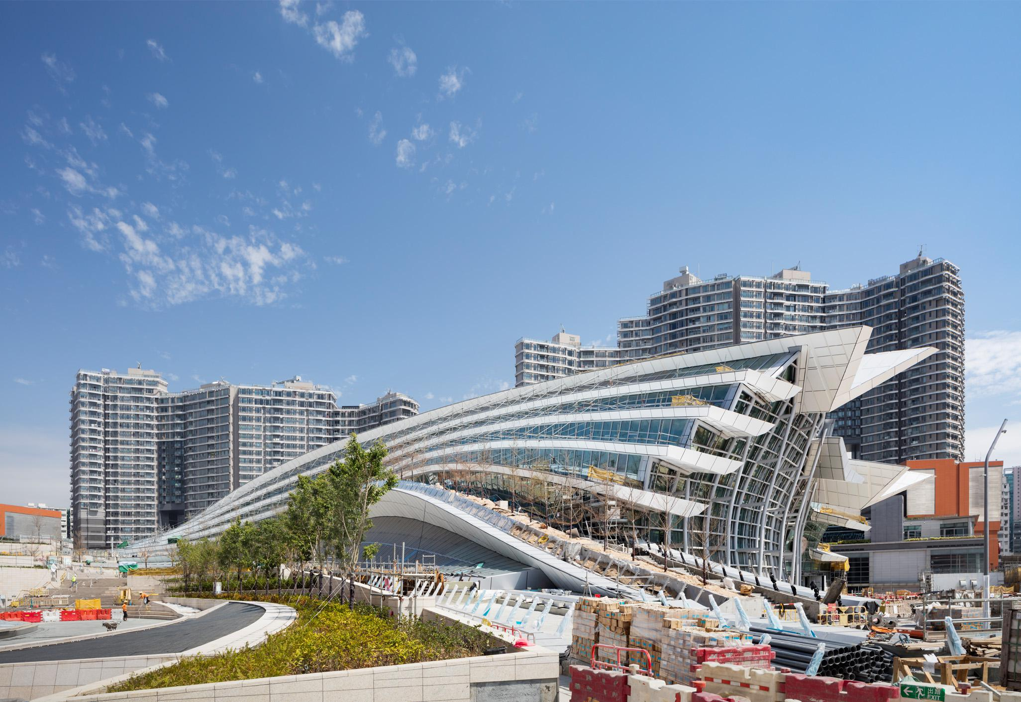 Hong Kong West Kowloon Station Aedas