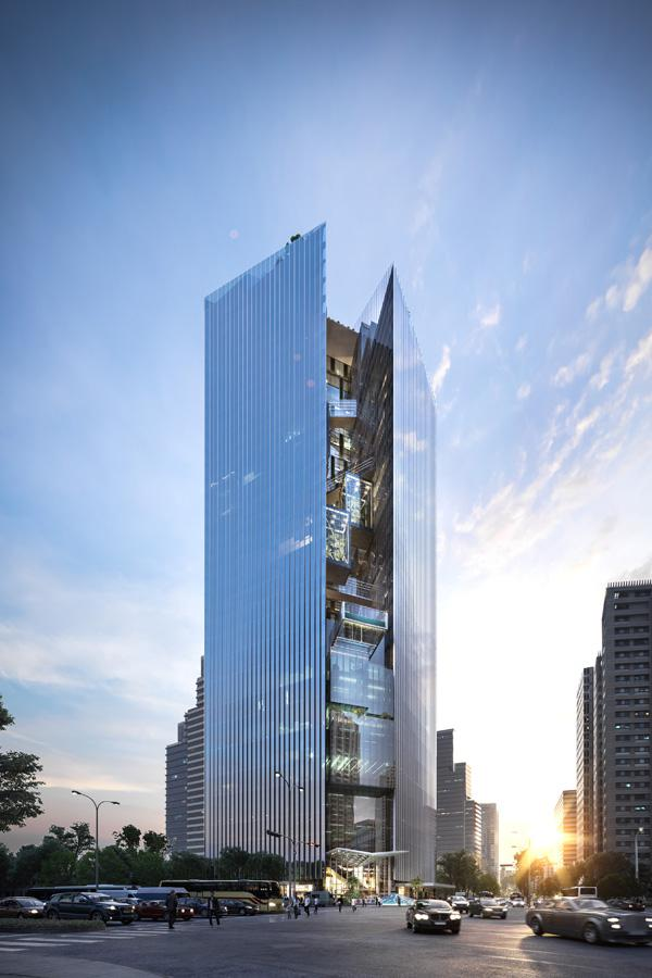 Commercial Bank Headquarters Mixed Use Project Aedas
